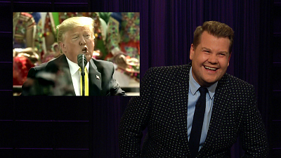 The Late Late Show with James Corden - Trump's Trip To India Gets Off To A Shaky Start