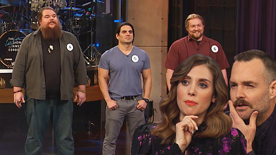 The Late Late Show with James Corden - Ponytail or Phony-Tail w/ Alison Brie & Will Forte