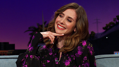 The Late Late Show with James Corden - Alison Brie Fainted At A Beastie Boys Show