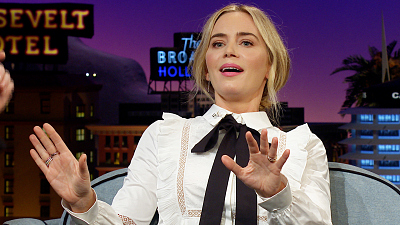 The Late Late Show with James Corden - Emily Blunt Recalls Her Days in a Girl Group