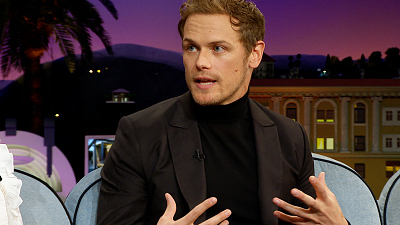 The Late Late Show with James Corden - To Sam Heughan, There's No 'Vin' - Only Vin Diesel