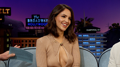 The Late Late Show with James Corden - Eiza Gonzalez's Doll Is Going to Haunt Her
