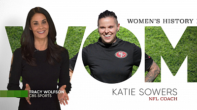 CBS Cares - Tracy Wolfson on Katie Sowers