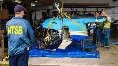 Alaska Aircrash Investigations - Forest Flight Down
