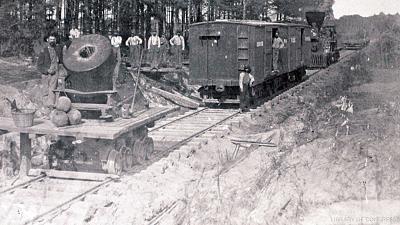 Combat Trains - The First Railroad War