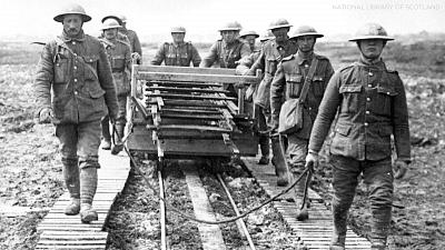 Combat Trains - WWI