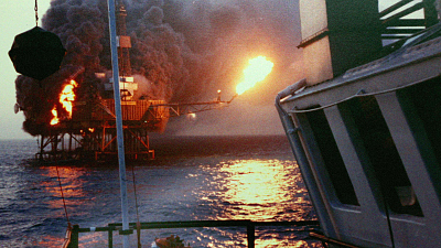 Make It Out Alive - Oil Rig Explosion