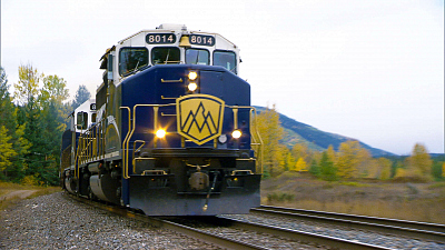 Mighty Trains - Rocky Mountaineer