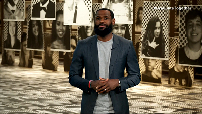 Graduate Together: America Honors The Class of 2020 - LeBron James Welcomes And Congratules The Class Of 2020