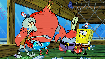 SpongeBob SquarePants - Man Ray Returns/Larry the Floor Manager
