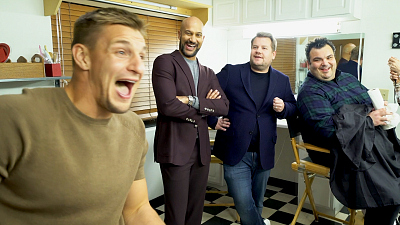Game On! - Backstage at GAME ON w/ Keegan-Michael Key, Gronk, James Corden & Ian Karmel