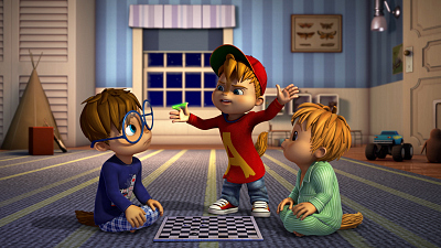 ALVINNN!!! and The Chipmunks - A is for Alien/Jeanette Enchanted