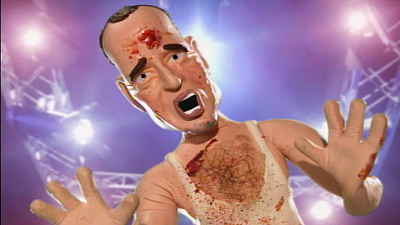 Celebrity Deathmatch - Chris Martin vs. Bono, Bruce Willis vs. Ashton Kutcher, Robert DeNiro vs. James Gandolfini