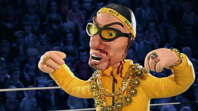 Celebrity Deathmatch - Ali G vs. Jamie Kennedy, Rodney Dangerfield vs. Rob Schneider, Adam Sandler vs. Ben Stiller