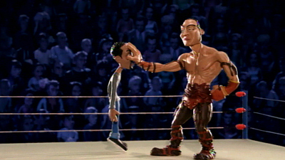 Celebrity Deathmatch - Xzibit vs. Paul Teutel, Sr., Jack White vs. Jack Black, Chris Rock vs. The Rock