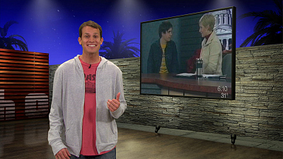 Tosh.0 - June 18, 2009 - News Puke Kid
