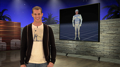 Tosh.0 - October 8, 2009 - Tron Guy