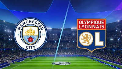 UEFA Champions League - Match Replay: Man. City vs. Lyon