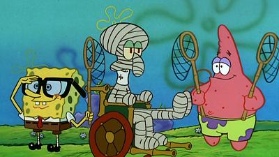 SpongeBob SquarePants - Jellyfishing/Plankton