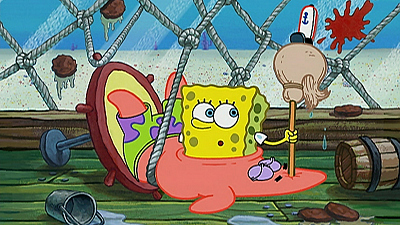 SpongeBob SquarePants - Wet Painters/Krusty Krab Training Video