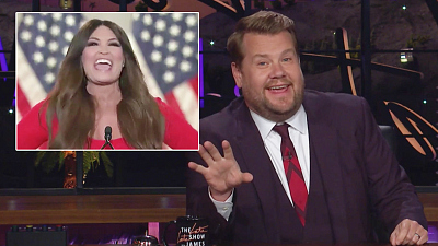 The Late Late Show with James Corden - What an Uplifting First Night at the RNC!