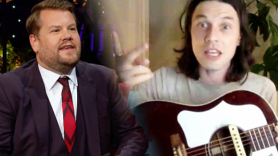 The Late Late Show with James Corden - James Bay's Guitar Is Waiting to Meet Bradley Cooper