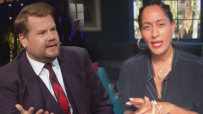 The Late Late Show with James Corden - Tracee Ellis Ross Discusses NBA Boycott & Jacob Blake Shooting