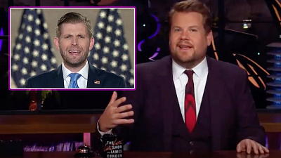The Late Late Show with James Corden - Has Donald Trump Blocked Eric's Number?