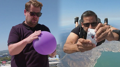 The Late Late Show with James Corden - James Corden CALLS OUT David Blaine