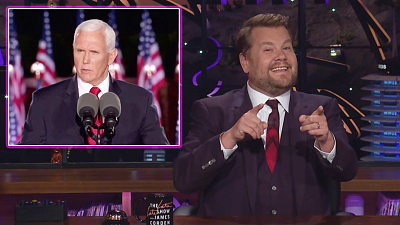The Late Late Show with James Corden - Mike Pence Wants To Be VP Again, Again