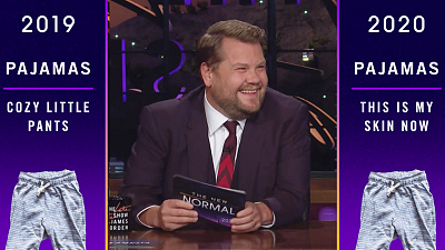 The Late Late Show with James Corden - 2019 v. 2020: Screen Time, Karen, Random Hookups