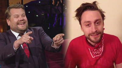 The Late Late Show with James Corden - Don't Get Used to Kieran Culkin's Awesome Beard