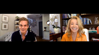 The Young and the Restless - One-On-One: Melody Thomas Scott And Greg Rikaart Interview Each Other