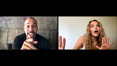 The Young and the Restless - One-On-One: Bryton James And Hunter King Interview Each Other