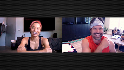 The Young and the Restless - One-On-One: Joshua Morrow And Brytni Sarpy Interview Each Other