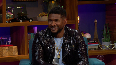 The Late Late Show with James Corden - 9/10/20 (Usher, Joan Jett and the Blackhearts)