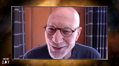 Star Trek: Picard - Star Trek Day 2020 | Sir Patrick Stewart Describes A Difficult But Fun Day Directing Star Trek: The Next Generation