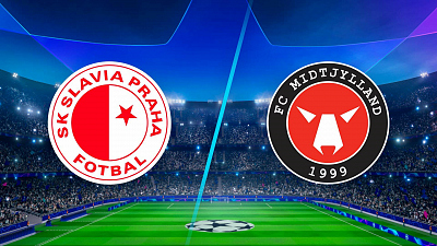 UEFA Champions League - Match Replay: Slavia Praha vs Midtjylland