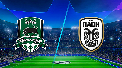 UEFA Champions League - Match Replay: Krasnodar vs PAOK