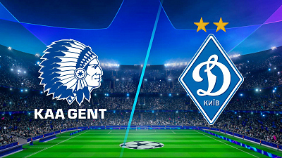 UEFA Champions League - Match Replay: Gent vs Dynamo Kyiv