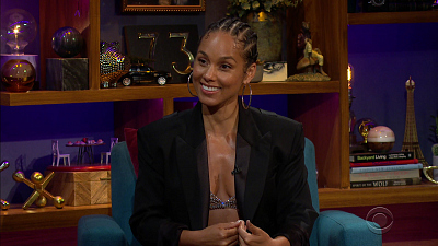 The Late Late Show with James Corden - 9/21/20 (Alicia Keys)