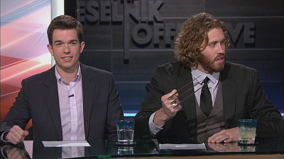 The Jeselnik Offensive - John Mulaney & T.J. Miller
