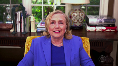 The Late Late Show with James Corden - 9/30/20 (Hillary Clinton)