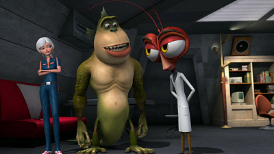 Monsters vs. Aliens - It Got Out of Hand/The Sound of Fear