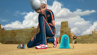 Monsters vs. Aliens - Frenemy Mine/Maximum B.O.B.