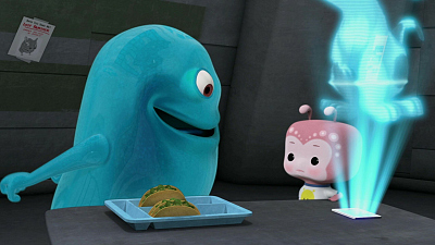 Monsters vs. Aliens - Night of the Living Dog/Attack of the Movie Night