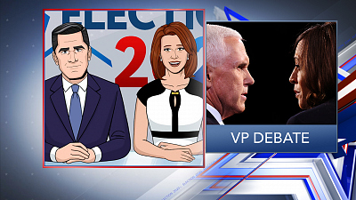 Tooning Out The News - 10/8/20 VP DEBATE (Rep. David Cicilline)