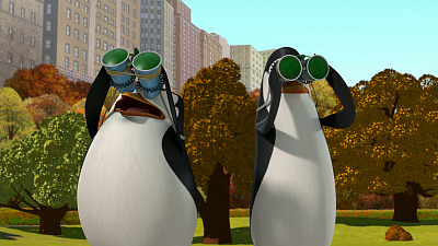 The Penguins of Madagascar - King Me/Private and the Winky Factory