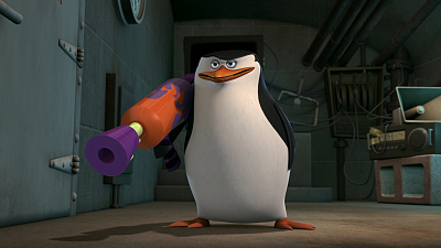 The Penguins of Madagascar - Mental Hen/Thumb Drive