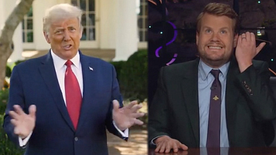 The Late Late Show with James Corden - Trump Is BACK and Extra Orange!